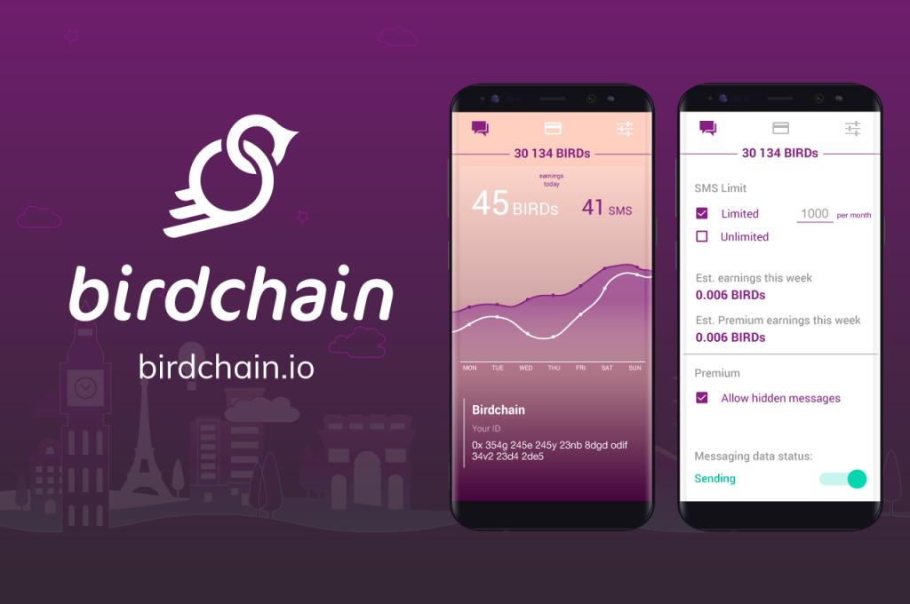 Birdchain, Blockchain App for Real-World Use